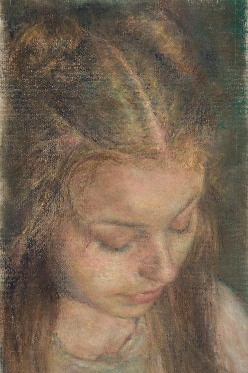 'Sarah's Hair' Impression Giclée