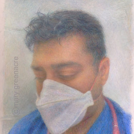 Dr Ravin Mistry 'Portraits for NHS Heroes'