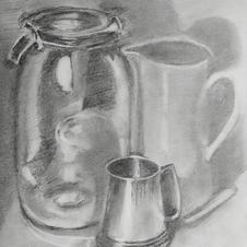 Still Life (graphite)