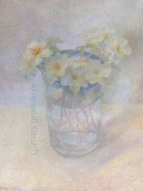 'Primevères' (Primroses) Peinture originale