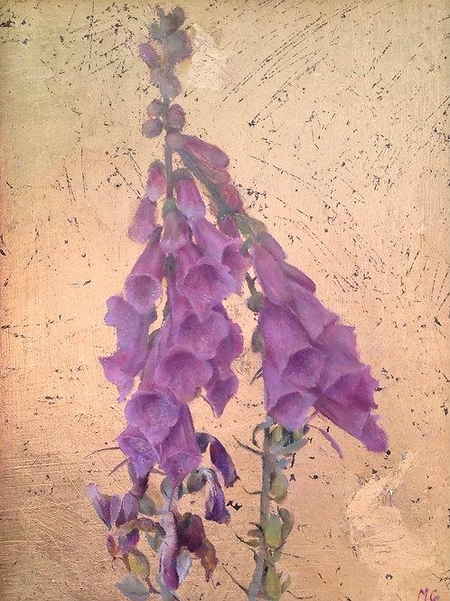 Foxglove Peinture Originale