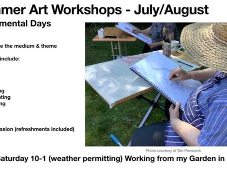2021 Summer Workshops - Experimental Days