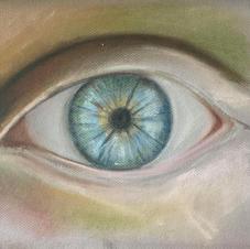 Eye Study in Soft Pastel