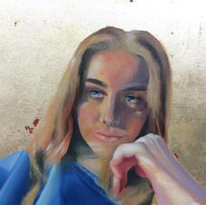 Gilded Portrait