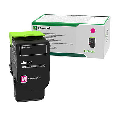 Lexmark 78C1UM0 Magenta Ultra High Yield Return Program Toner Cartridge