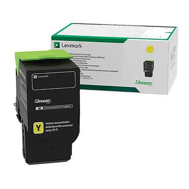 Lexmark 78C1XYE Yellow Extra High Yield Contract Toner Cartridge