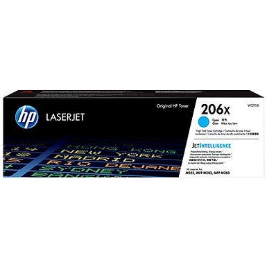 HP 206X Cyan High Yield LaserJet Toner Cartridge