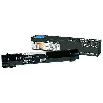 LEXMARK X950DE BLACK TONER (38,000 PG. YIELD)