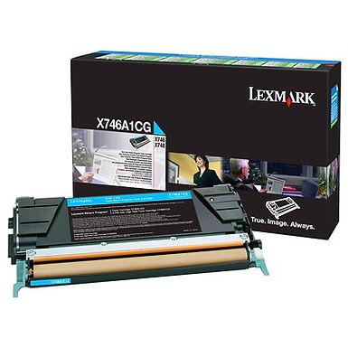 LEXMARK X746/X748 CYAN TONER (7,000 PG. YIELD)