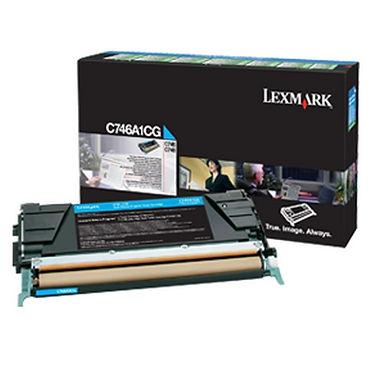 LEXMARK C746, C748 CYAN TONER (7,000 PG. YIELD)