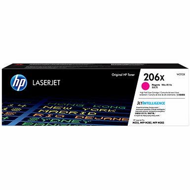 HP 206X Magenta High Yield LaserJet Toner Cartridge
