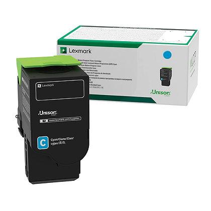 Lexmark 78C1XC0 Cyan Extra High Yield Return Program Toner Cartridge