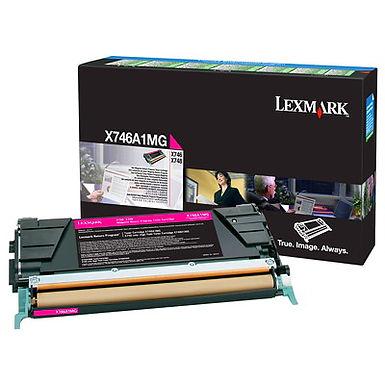LEXMARK X746/X748 MAGENTA TONER (7,000 PG. YIELD)