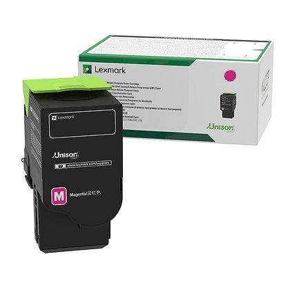 Lexmark 78C1XM0 Magenta Extra High Yield Return Program Toner Cartridge