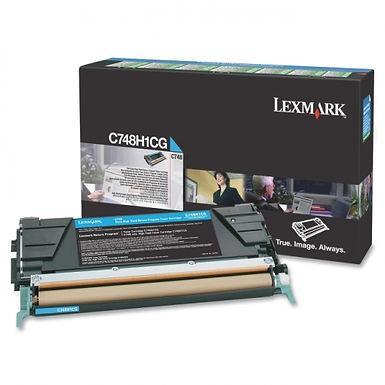 LEXMARK C748 HY CYAN TONER (10,000 PG. YIELD)