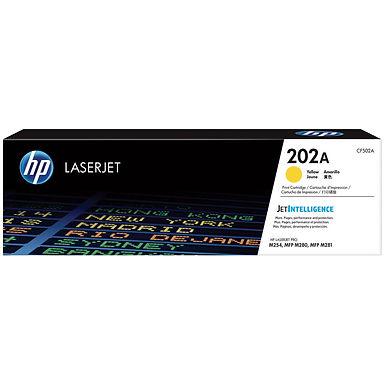 HP 202A Yellow LaserJet Toner Cartridge