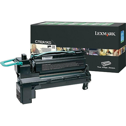 Lexmark C792/X792 BLACK TONER (6,000 pg. yield)