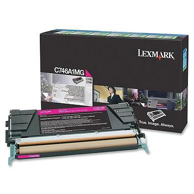 LEXMARK C746, C748 MAGENTA TONER (7,000 PG. YIELD)