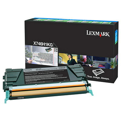 LEXMARK X746/X748 HY BLACK TONER (12,000 PG. YIELD)