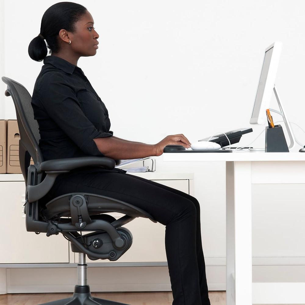 good working posture