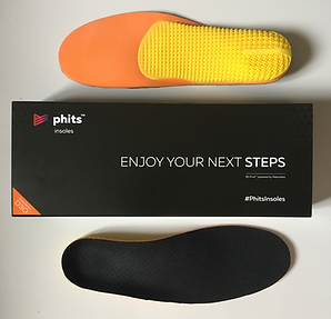Phits custom insoles 3d printed
