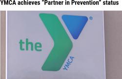 "YMCA achieves ""Partner in Prevention"" status"