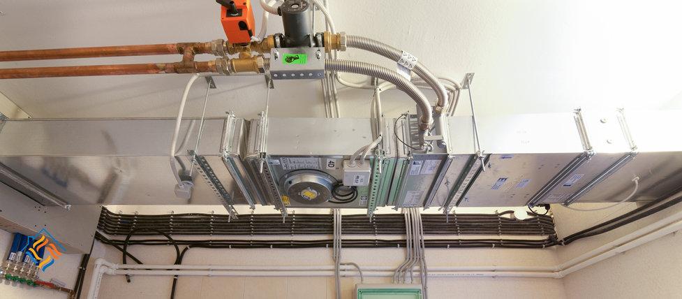 Монтаж систем вентиляции от компании Структура Тепла