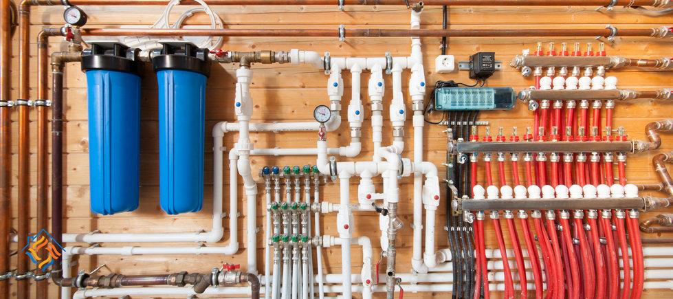 Монтаж систем водоснабжения от компании Структуры Тепла