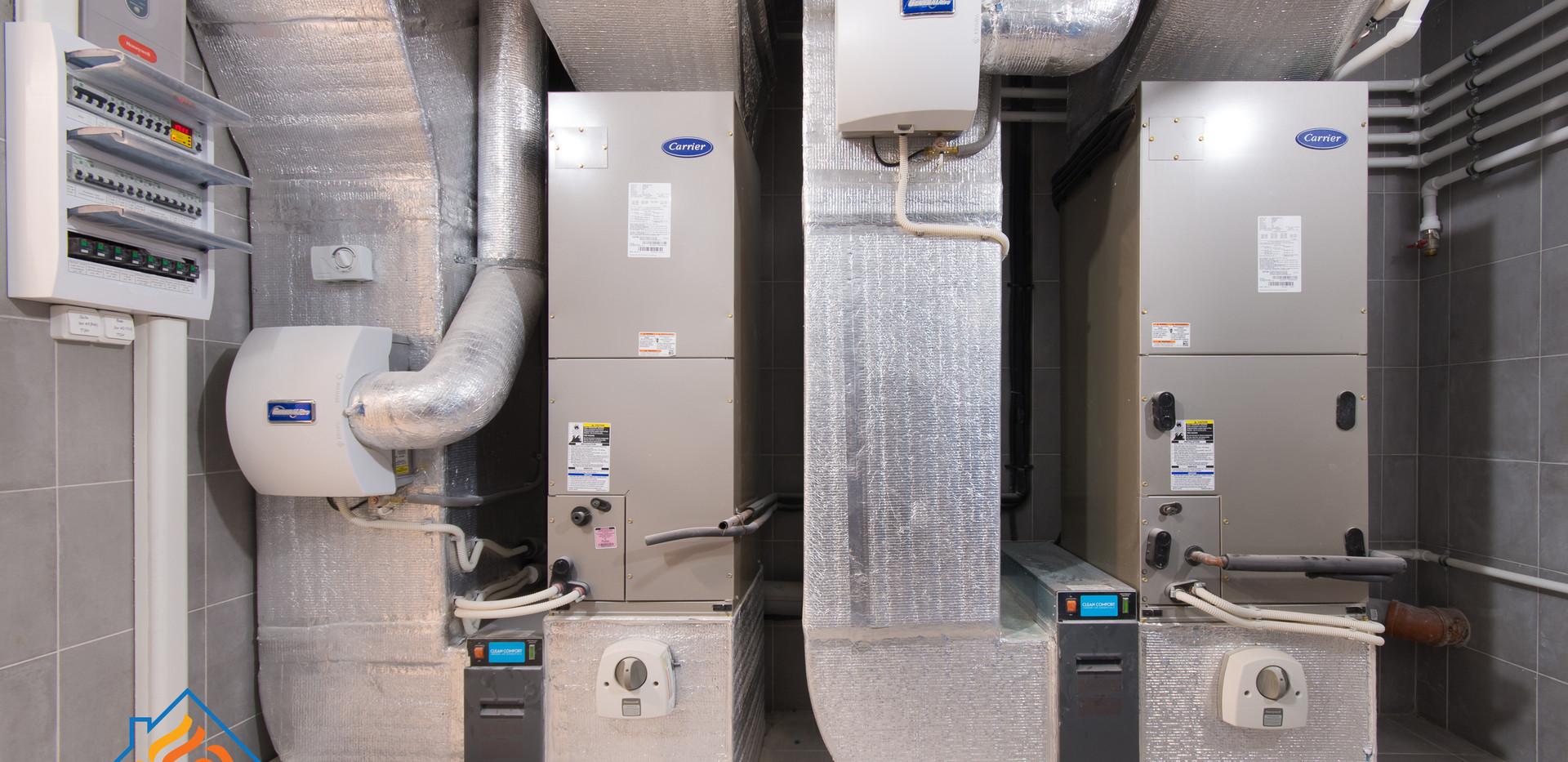 Система воздушного отопления в Зеленогорске
