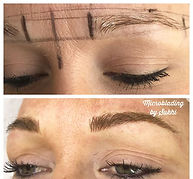 Fluffy natural brows created ❤️ fill in