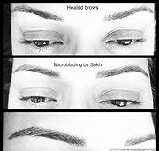 ❤️ natural hairstroke Microblading! Went