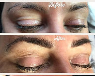 Brow transformation ❤️ from rounded spar