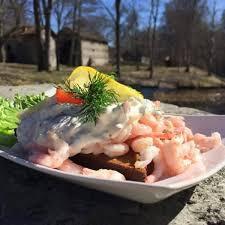 Räksmörgås i Borgvik