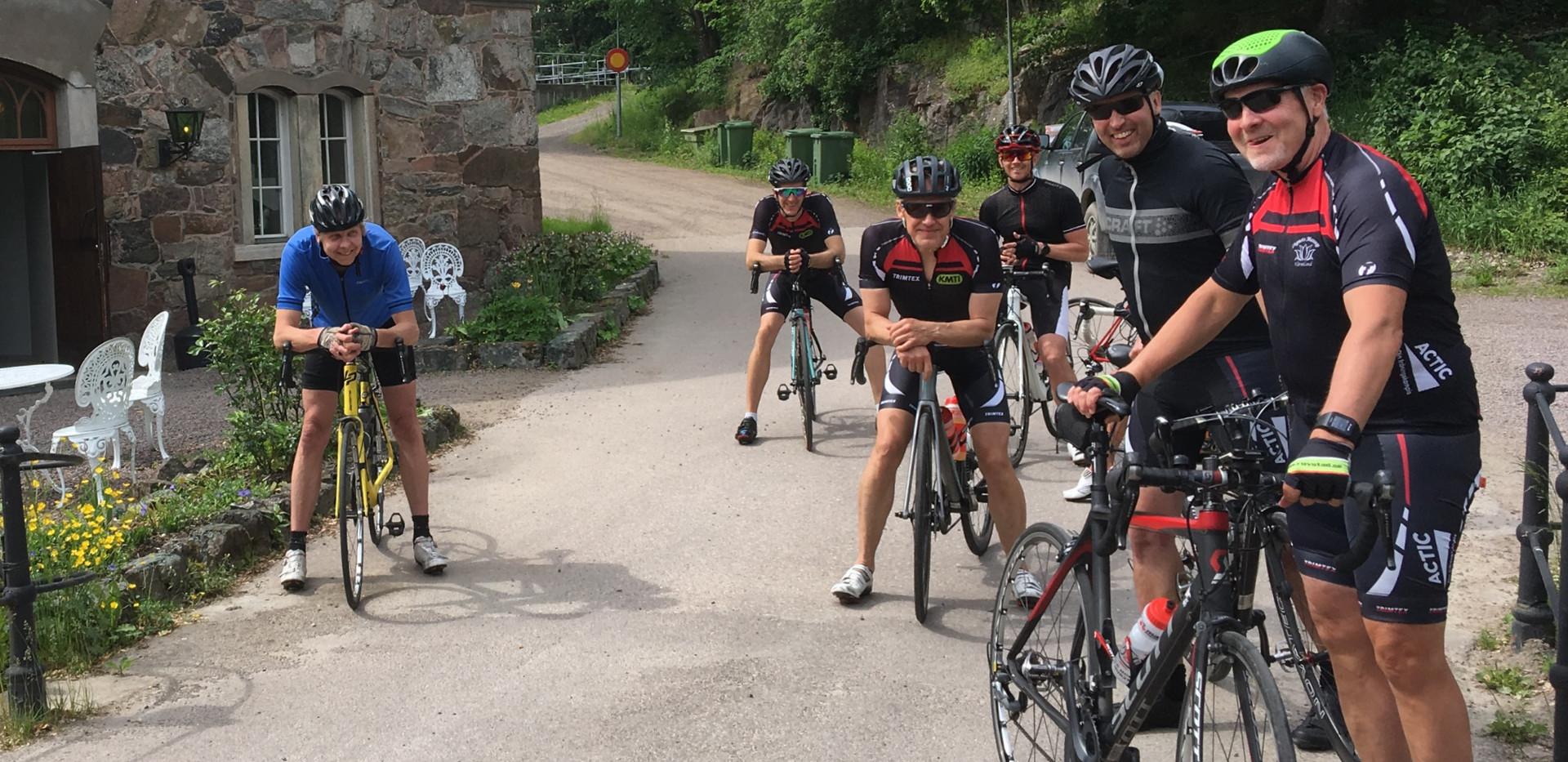 Cyklar i Borgvik