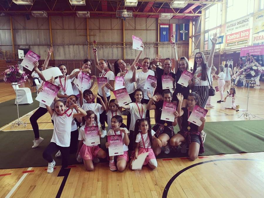 Natjecanje za djecu Plesni klub Lambada