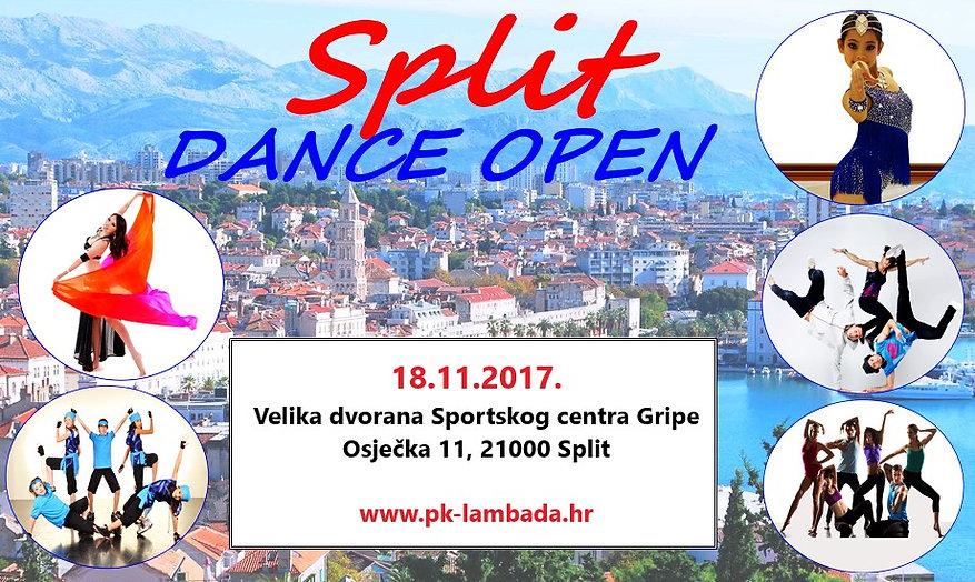Split dance open