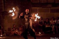 Spectacle de feu médiéval - Jongleur
