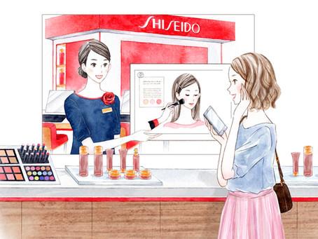 化粧品メーカー広告