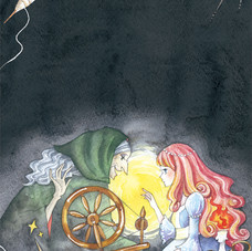 「ねむり姫」挿絵
