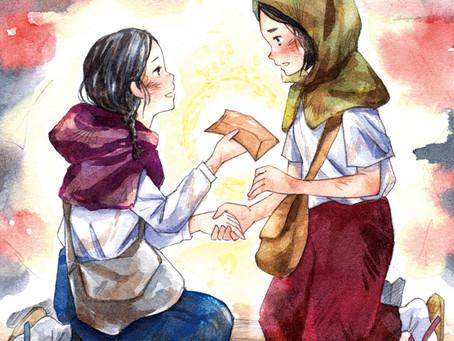 道徳副読本「明るい心」挿絵