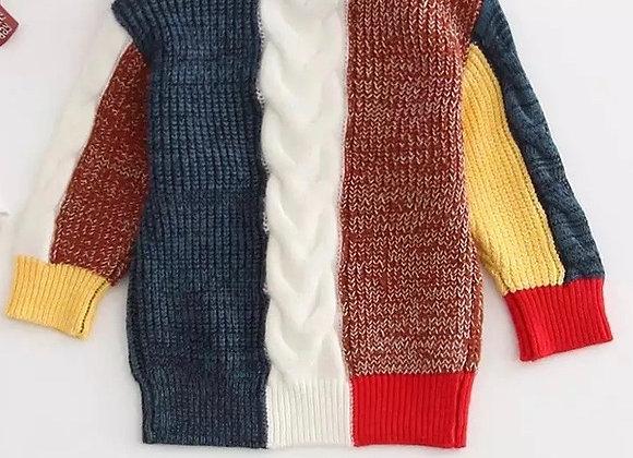 Baby Girl Fleece Sweater Onesie