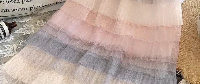 Baby Girl Layered Tutu Skirt