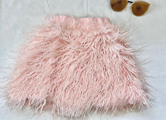 Baby Girl Fur Skirt