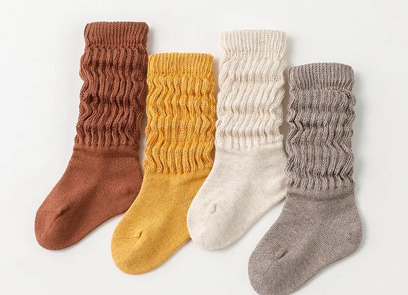 Organic Ribbed Socks