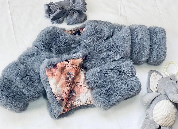 Baby Girl Faux Fur