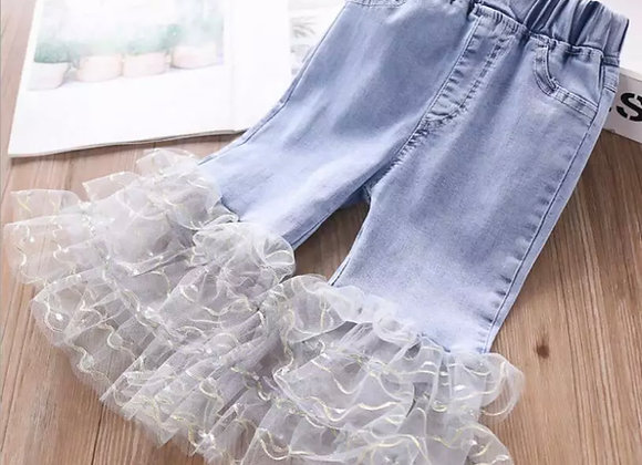 Baby Girl Ruffle Jeans