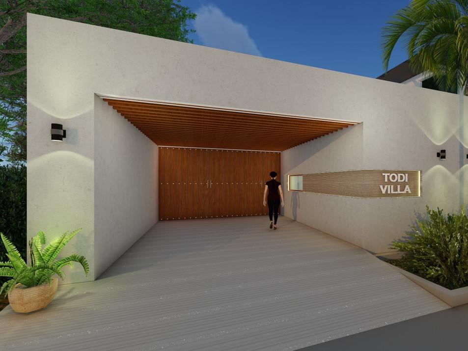 Residence for  Mr. Kishan Todi