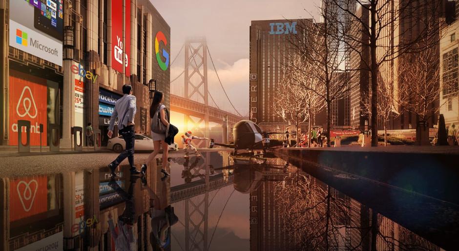 Map Silicon Valley Tech Tour