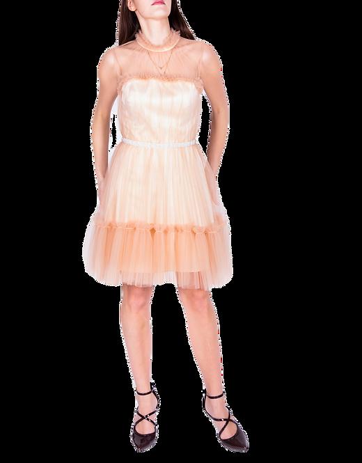 Suknia Blanche kremowo-beżowa