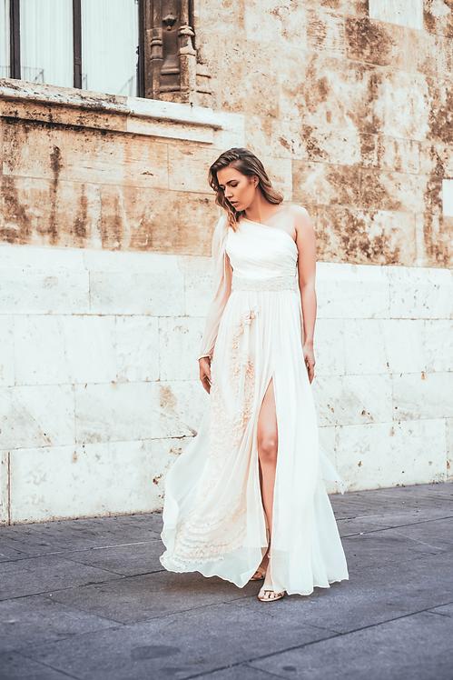 Suknia jedwabna Cornelia